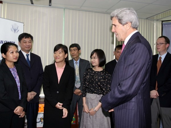 Джон Керри: Вьетнам - потенциальный крупный торговый партнер США в регионе - ảnh 1