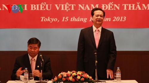Вьетнамо-японские отношения находятся на более чем когда-либо благоприятной стадии - ảnh 1