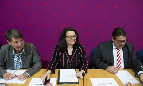 В Германии объявлен состав нового правительства страны - ảnh 1