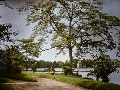 Первые цветные фотографии Ханоя 100 лет назад - ảnh 2