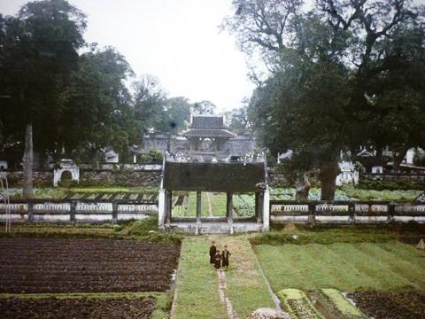 Первые цветные фотографии Ханоя 100 лет назад - ảnh 3