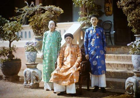 Первые цветные фотографии Ханоя 100 лет назад - ảnh 4