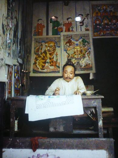 Первые цветные фотографии Ханоя 100 лет назад - ảnh 6