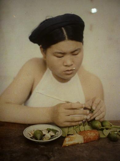 Первые цветные фотографии Ханоя 100 лет назад - ảnh 7