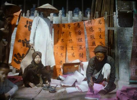 Первые цветные фотографии Ханоя 100 лет назад - ảnh 9