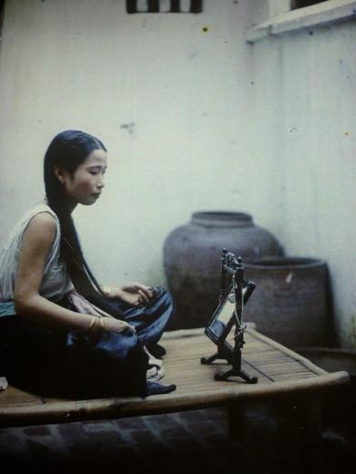 Первые цветные фотографии Ханоя 100 лет назад - ảnh 11