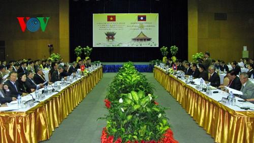 Вьетнам и Лаос продолжают эффективное выполнение протоколов о сотрудничестве - ảnh 1