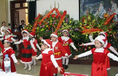 Во Вьетнаме проходят различные мероприятия, приуроченные к наступающему Рождеству - ảnh 1