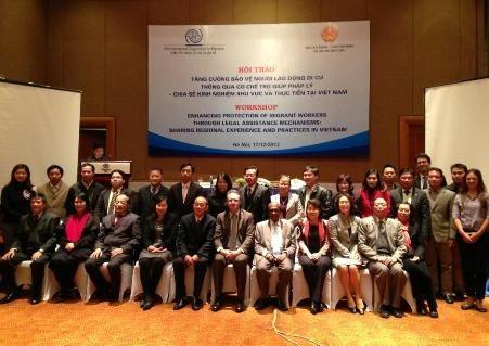 Защита прав и интересов вьетнамских трудящихся-мигрантов за границей - ảnh 1