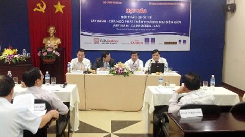 Семинар по развитию торговли на пограничном районе провинции Тэйнинь - ảnh 1
