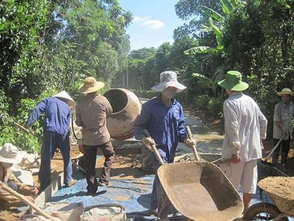 Строительство новой деревни в общине Виньтхать провинции Куангчи - ảnh 2