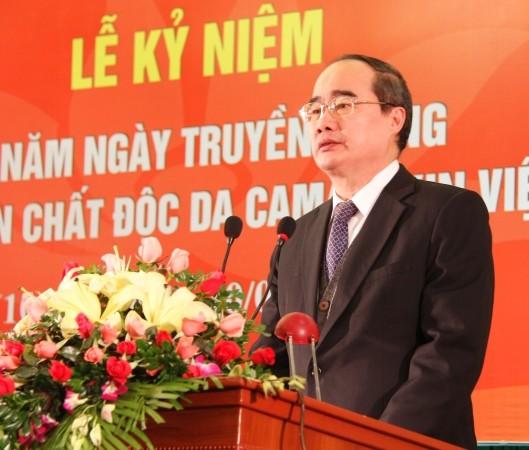 Празднование 10-летнего юбилея Общества вьетнамских жертв дефолианта эйджент орандж - ảnh 1