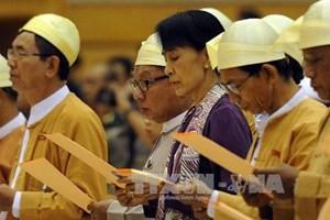 Оппозиция Мьянмы заявила об участии в выборах 2015 года - ảnh 1