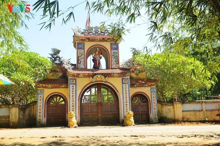 Пагода Тхиенан во время поста - ảnh 1