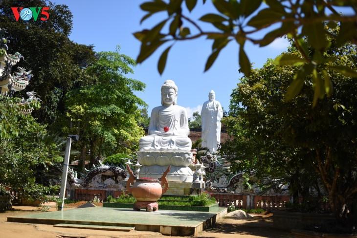 Пагода Тхиенан во время поста - ảnh 3
