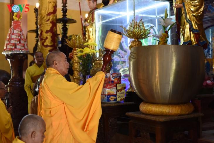 Пагода Тхиенан во время поста - ảnh 5