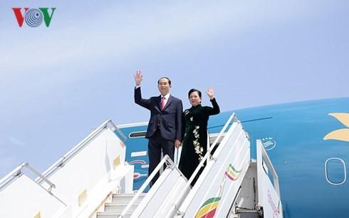 Президент Вьетнама Чан Дай Куанг завершил государственный визит в Эфиопию  - ảnh 1