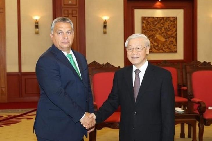 Нгуен Фу Чонг отбыл из России в Венгрию - ảnh 2