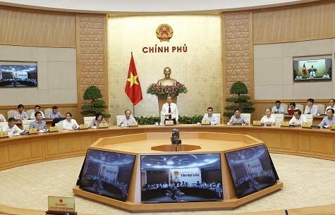 Чыонг Хоа Бинь председательсовал на всереспубликанской онлайн-конференции по вопросам административных формальностей - ảnh 1