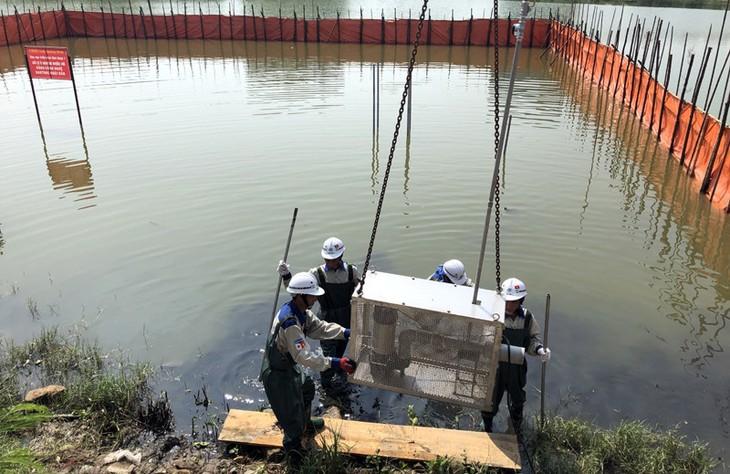 Применение японских технологий в очистке водоёмов в провинции Куангнинь - ảnh 2