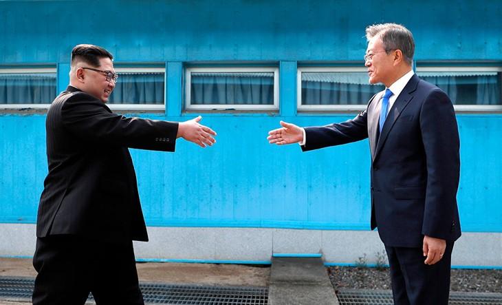 Лидеры КНДР и Республики Корея начали переговоры - ảnh 1