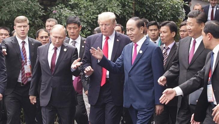 Руководители разных стран выразили соболезнования в связи с кончиной президента Вьетнама - ảnh 1