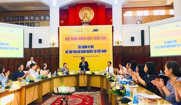 «Микрофинансы в поддержке женщин для минимизации бедности во Вьетнаме» - ảnh 1