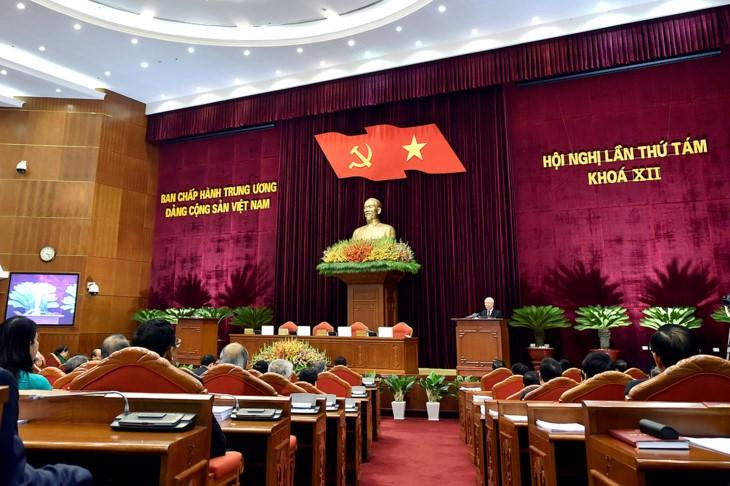 На 8-м пленуме ЦК КПВ 12-го созыва выполнены поставленные задачи - ảnh 1