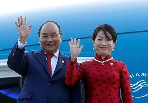 Премьер-министр Вьетнама отправился в Японию для участия в саммите Меконг-Японии - ảnh 1