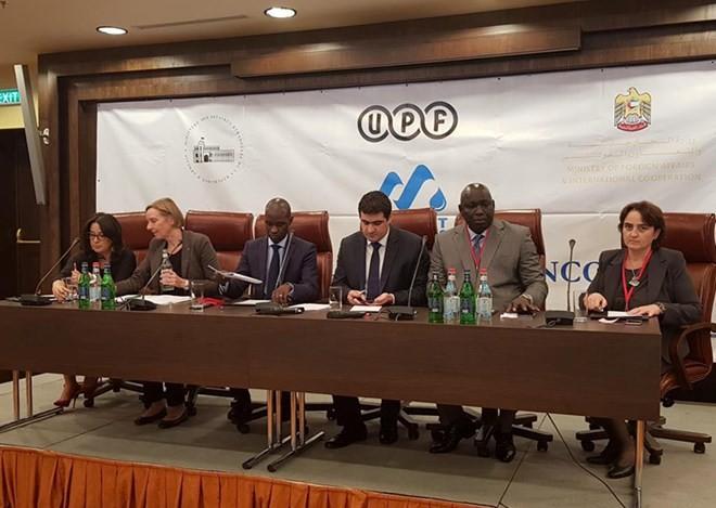 В Армении открылся форум Международного союза прессы Франкофонии  - ảnh 1
