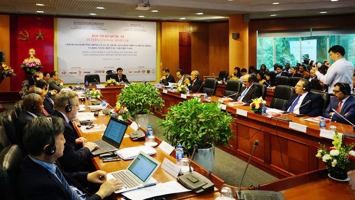 Страны Африки и Ближнего Востока высоко оценили роль Вьетнама в политике, ориентированной на Восток - ảnh 1