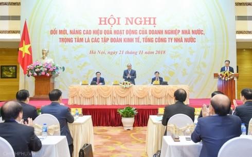 Премьер-министр Вьетнама председательствовал на конференции по обновлению предприятий  - ảnh 1