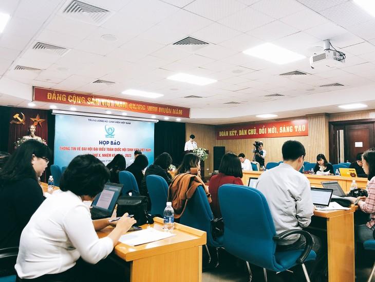 Скоро состоится 10-й всереспубликанский съезд Союза вьетнамских студентов  - ảnh 1