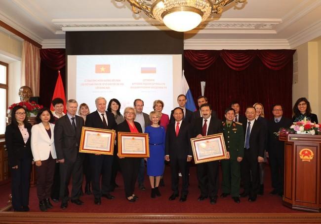 Вьетнам наградил три российских вуза орденами Дружбы - ảnh 1