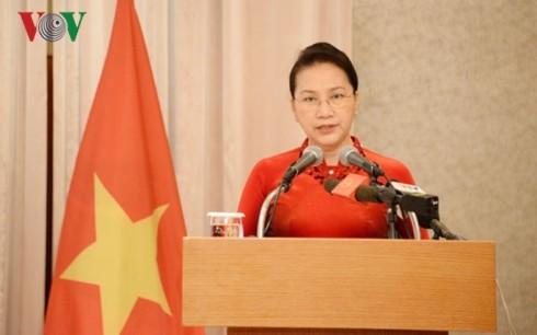 Официальный визит спикера вьетнамского парламента Нгуен Тхи Ким Нган в Республику Корея - ảnh 1