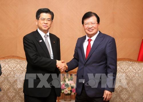 Необходимо активизировать сотрудничество с Японией в развитии инфраструктуры и в борьбе со стихийными бедствиями - ảnh 1