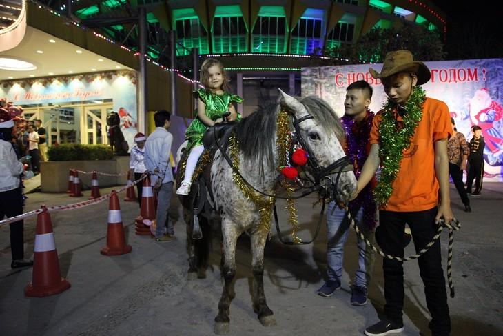 Программа «Новогодняя ёлка» в Ханое - ảnh 14