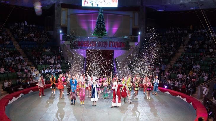 Программа «Новогодняя ёлка» в Ханое - ảnh 10