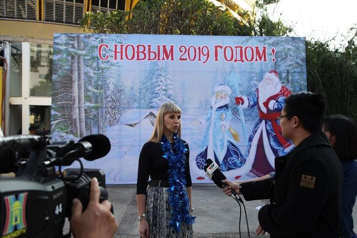 Программа «Новогодняя ёлка» в Ханое - ảnh 1