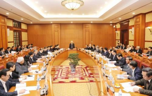 1-е заседание подкомиссии по документам 13-го съезда КПВ - ảnh 1