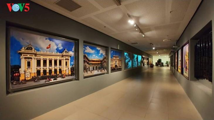 Современное искусство в здании Национального собрания Вьетнама - ảnh 4