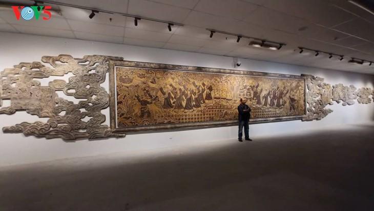 Современное искусство в здании Национального собрания Вьетнама - ảnh 5
