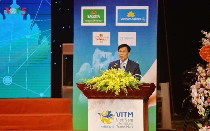 Открылась Вьетнамская международная туристическая ярмарка 2019 - ảnh 1