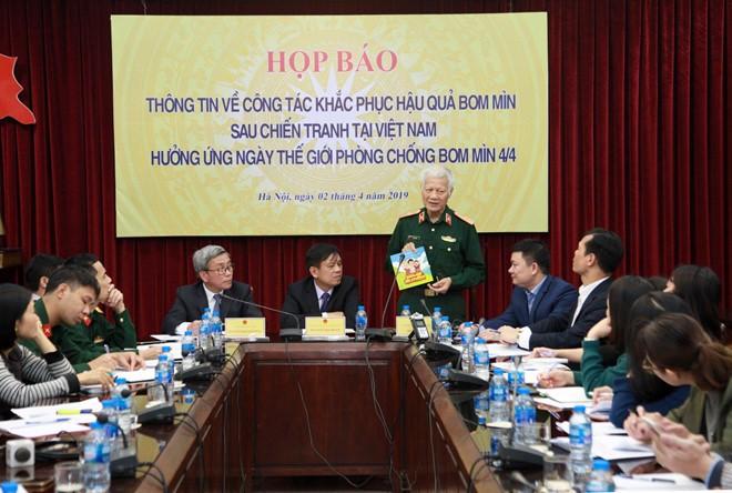 Во Вьетнаме пройдут различные мероприятия по случаю Международного дня борьбы против минной угрозы - ảnh 1