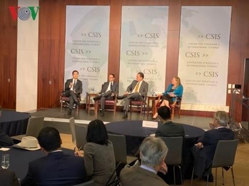 Стабильные вьетнамо-американские отношения способствуют сохранению мира, безопасности и сотрудничества в регионе - ảnh 1