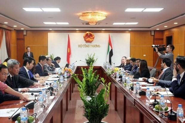 4-е заседание вьетнамо-эмиратской межправительственной комиссии - ảnh 1