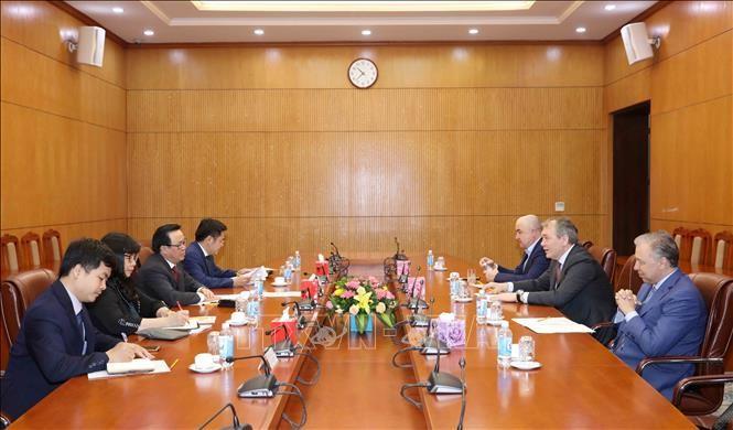 Расширение сотрудничества между коммунистическими партиями Вьетнама и России - ảnh 1