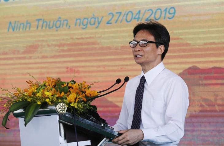 В провинции Ниньтхуан открылась крупнейшая в Юго-Восточной Азии солнечная электростанция - ảnh 1
