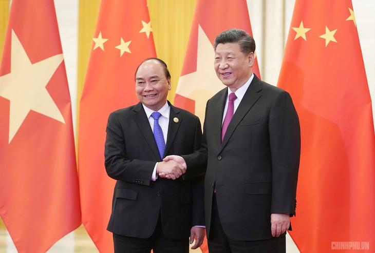 Премьер-министр Вьетнама успешно завершил участие во 2-м форуме высокого уровня «Один пояс, один путь» - ảnh 1