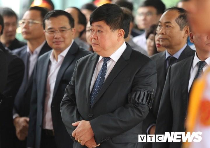 Руководители Радио «Голос Вьетнама» приняли участие в церемонии прощания с бывшим президентом Ле Дык Анем - ảnh 1